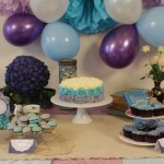 This is an image of the party Shabby Chic party table.