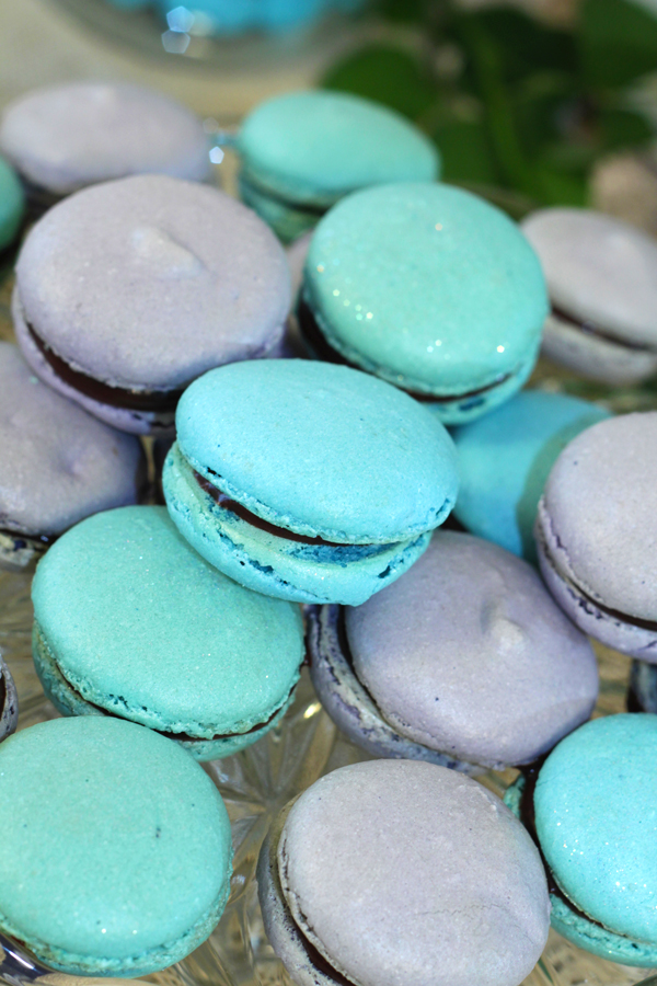 This is an image of macaroons.
