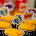 This is an image of cupcake toppers.