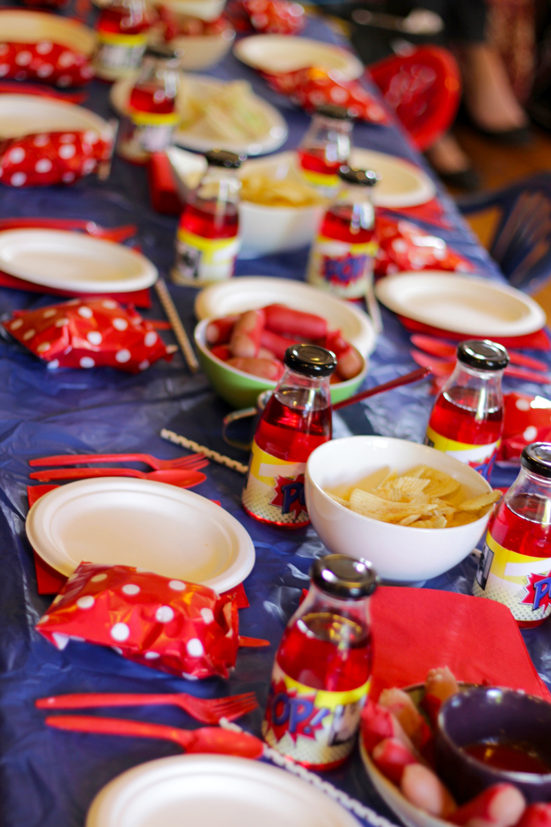 This is an image of the party table.