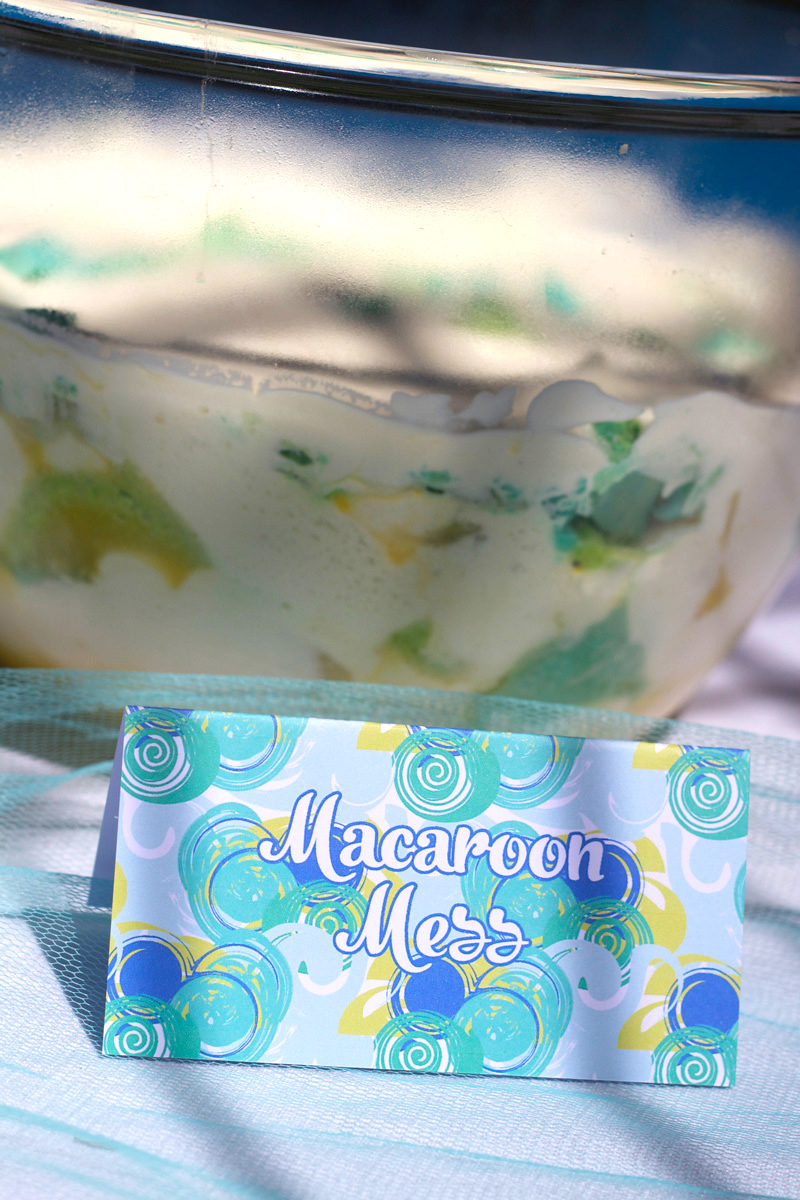 This is an image of Macaroon Mess.