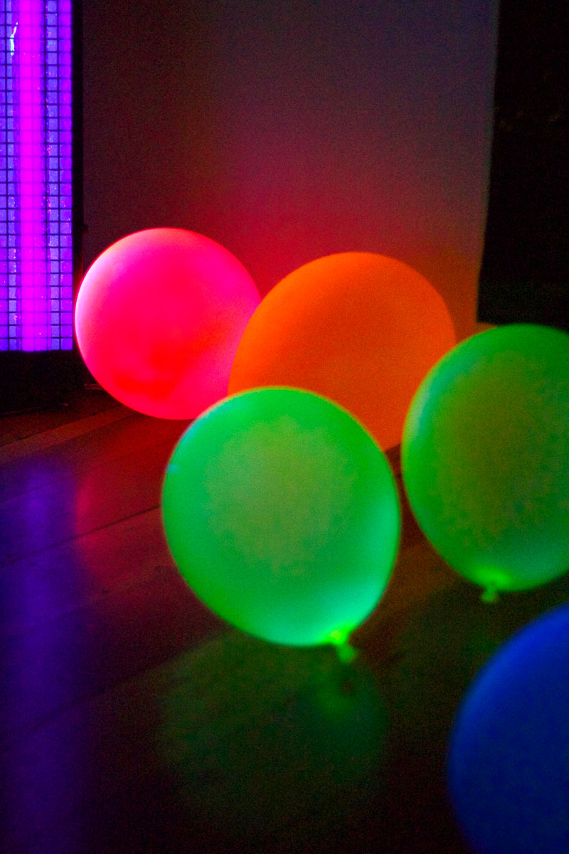 This is an image of Glow in the Dark Balloons.
